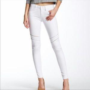 Ladies Joe's Camelia White Skinny Jeans